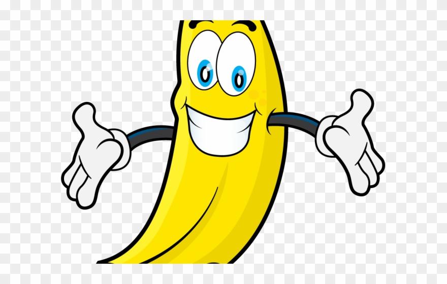Banana happy. Clipart png download