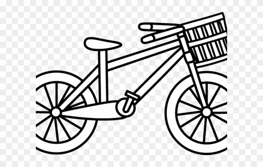 Bicycle Clipart Cartoon Bike Ride A Bike Coloring Pages Png Download 471098 Pinclipart