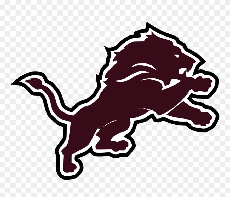 Detroit Lions Black Logo Clipart (#475108) - PinClipart