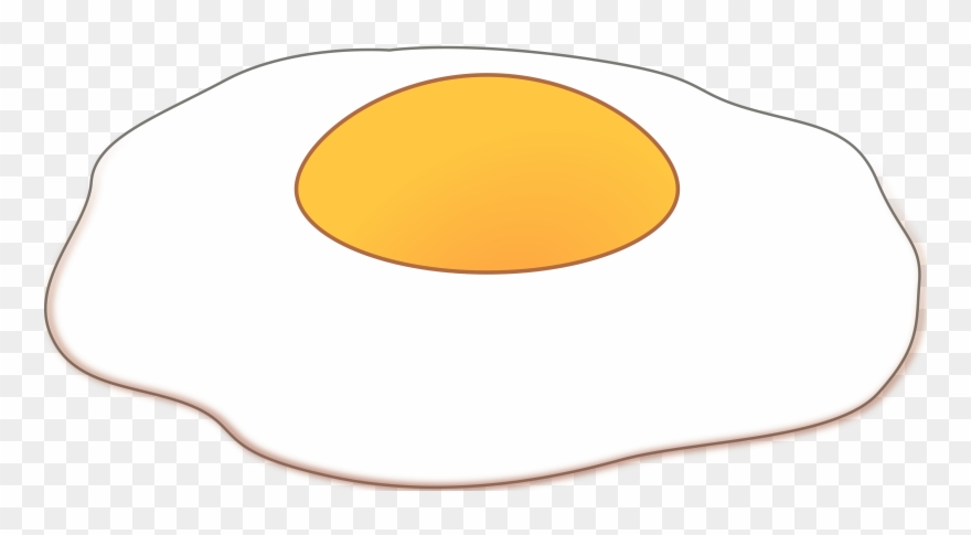 Frying Eggs Clipart - Egg In Frying Pan - Free Transparent PNG Clipart  Images Download