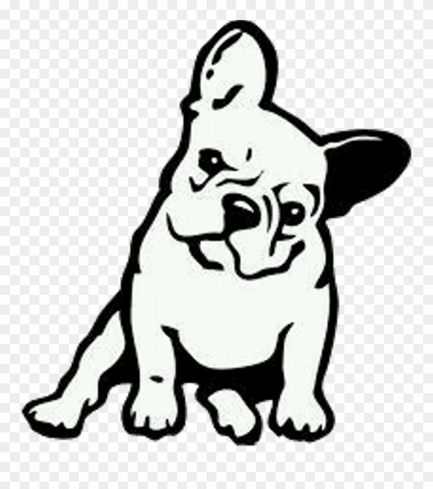 French Bulldog Cartoon Drawing Clipart 475644 Pinclipart