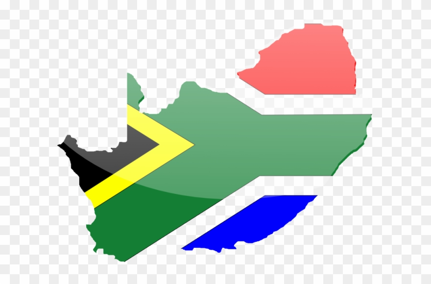 South African Flag Vector   South Africa Vector Map Clipart