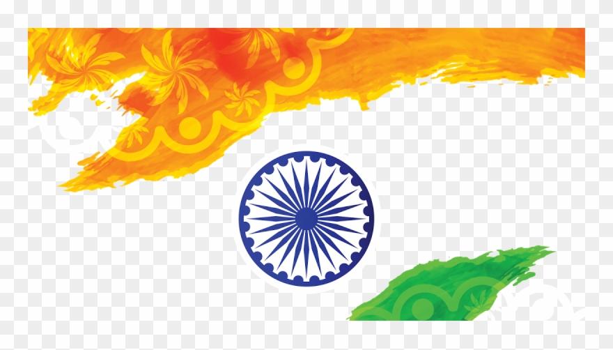Jpg Transparent Download India Flag Png - Indian Flag Background Png Clipart