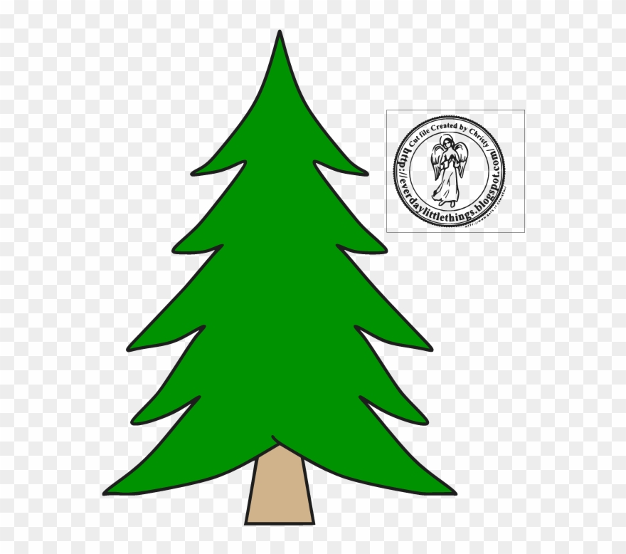 Disney Christmas Tree Svgs Clipart