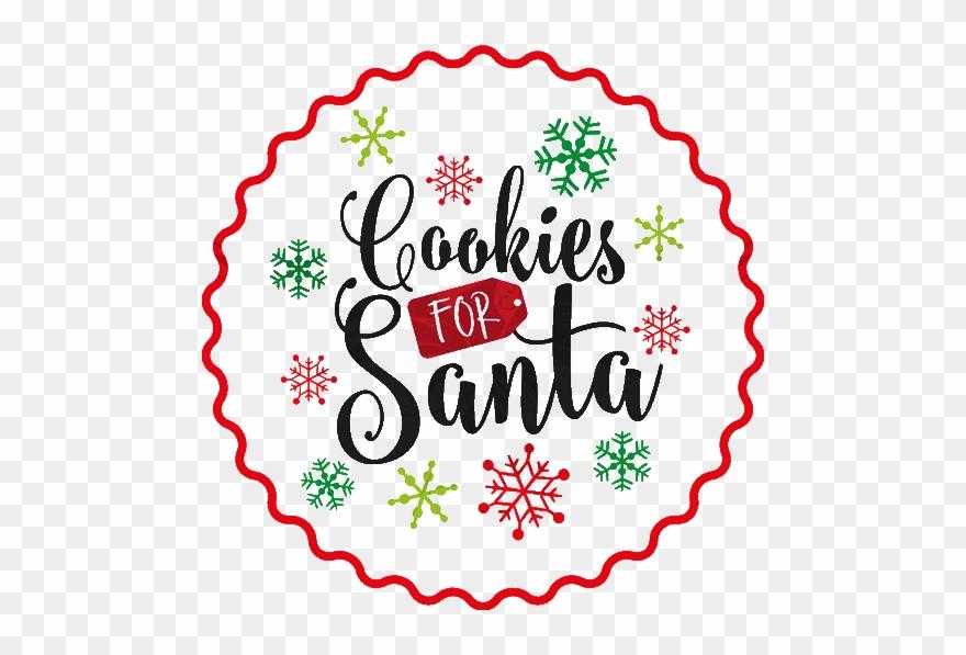 Cookies For Santa Or Dropbox Cookies For Santa Svg Free