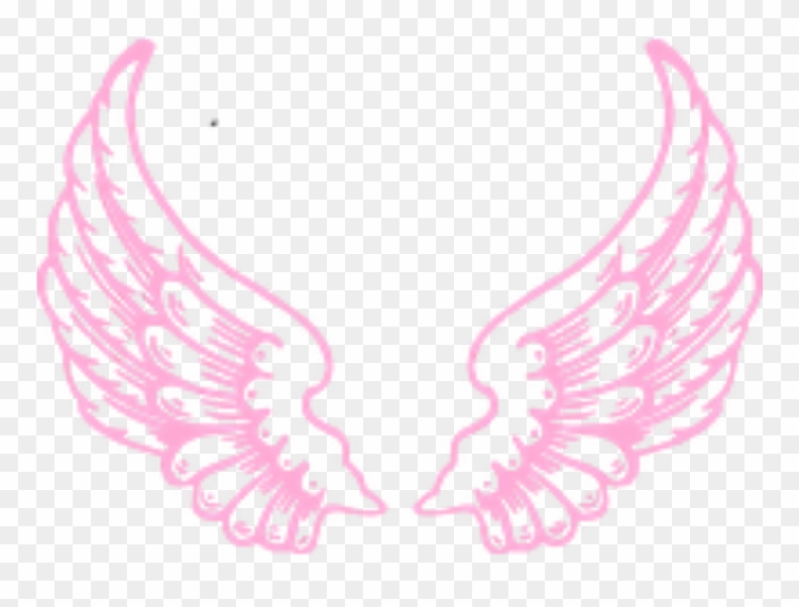Angel pink. Ftestickers fantasyart wings fairy