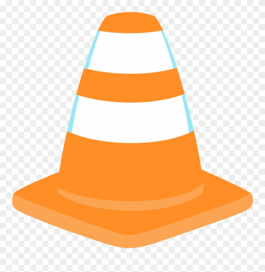 Construction Cone Clipart Png Banner Free - Construction Party Png Transparent Png