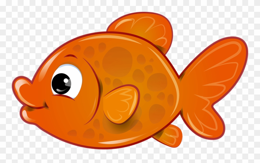 Fish kawaii. Vector transparent library betta