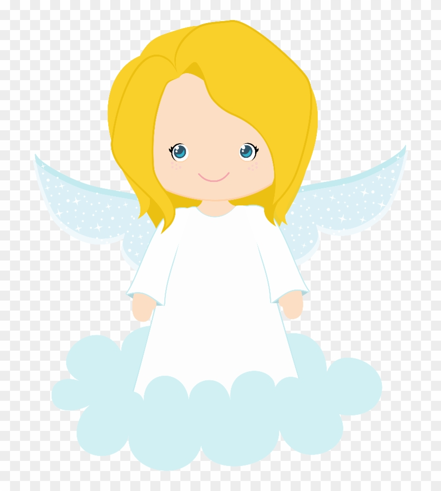 Angel transparent background. Free clipart anjinho menina