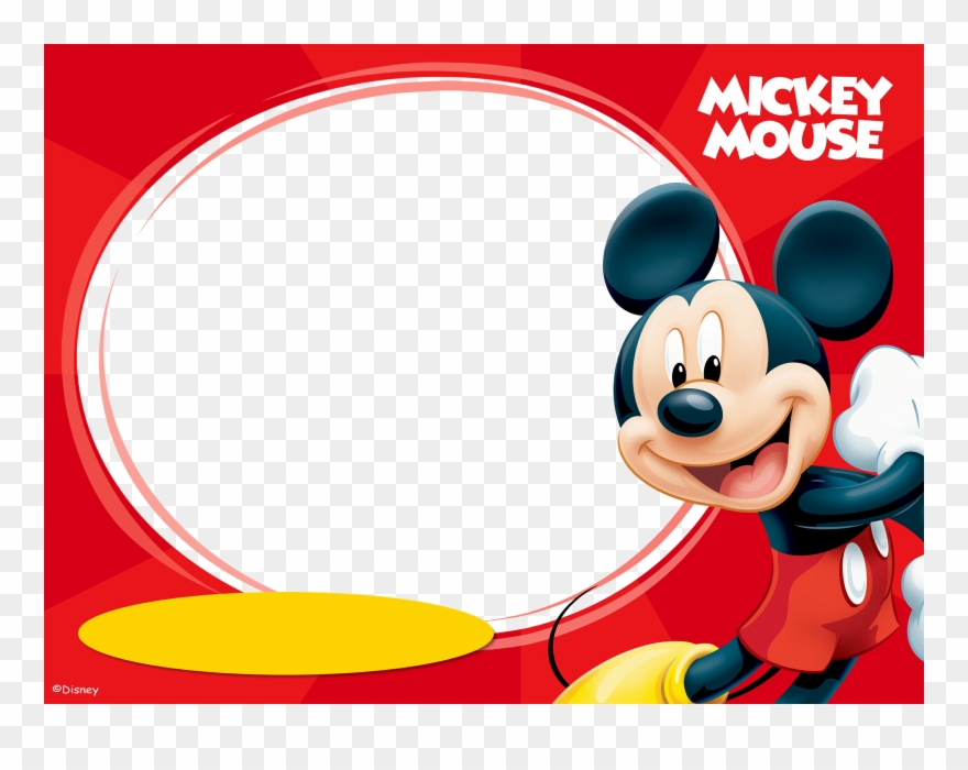Mickey Mouse Invitation Card Mickey Mouse Mad Libs Clipart