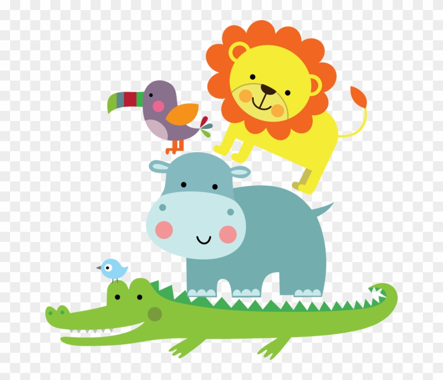 Jacare Safari Png Desenho De Animais De Safari Clipart 4864354