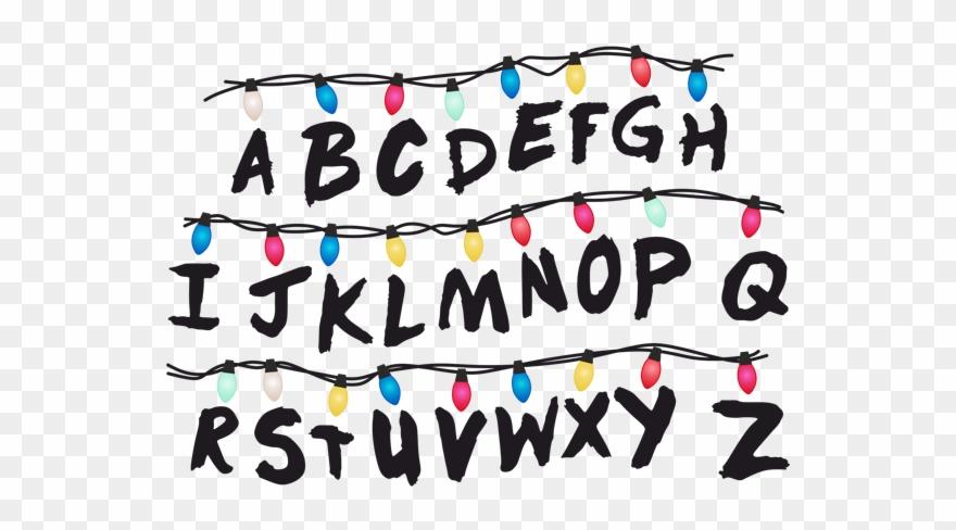 Stranger Things Christmas Lights Png.Tumblr Abc Light Strangerthings Milliebobbybrown