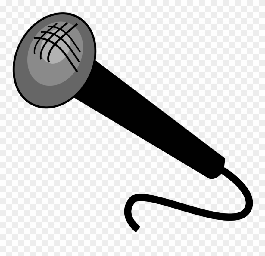 Large Size Of Coloring Page - Microphone Clipart Transparent Background -  Png Download (#4870987) - PinClipart