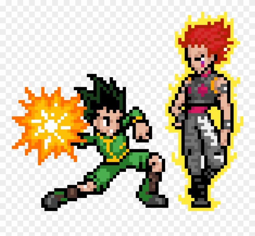 Hunter X Hunter Pixel Art Clipart 4886260 Pinclipart