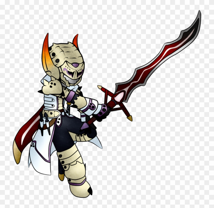 Knife Clipart Hunter Monster Hunter Barioth X Png Download