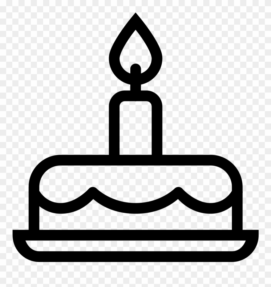 Gateau D Anniversaire Icon Tort Ikonka Png Clipart 490814 Pinclipart