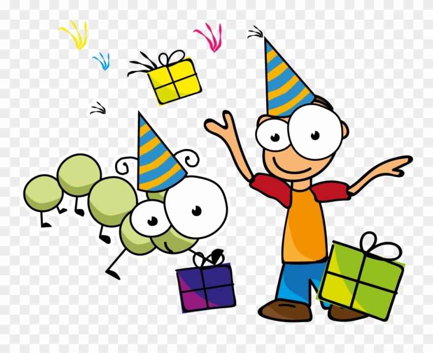 F U00eate D Enfant Chez Mille Pattes Amusements De Fete D Enfants Clipart 490954 Pinclipart