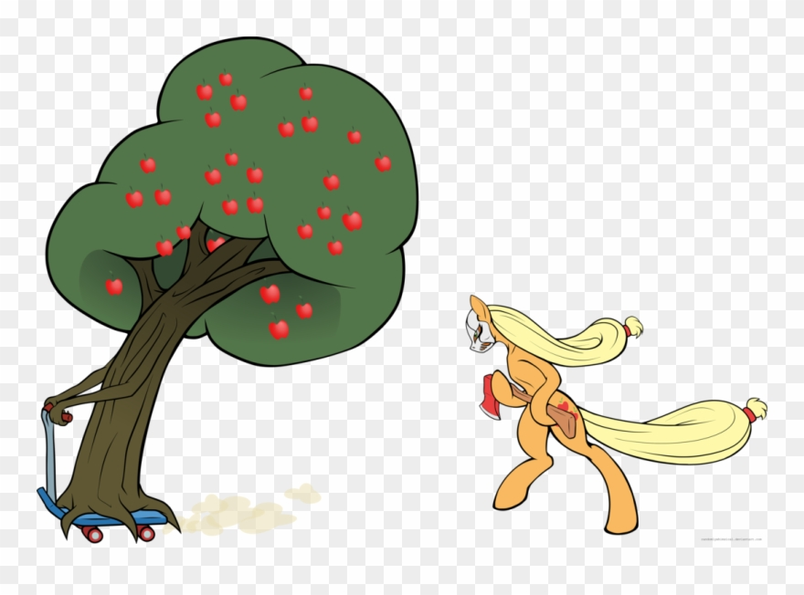 S Horrorland March Creative Challenge Tree Mlp Clipart 492386