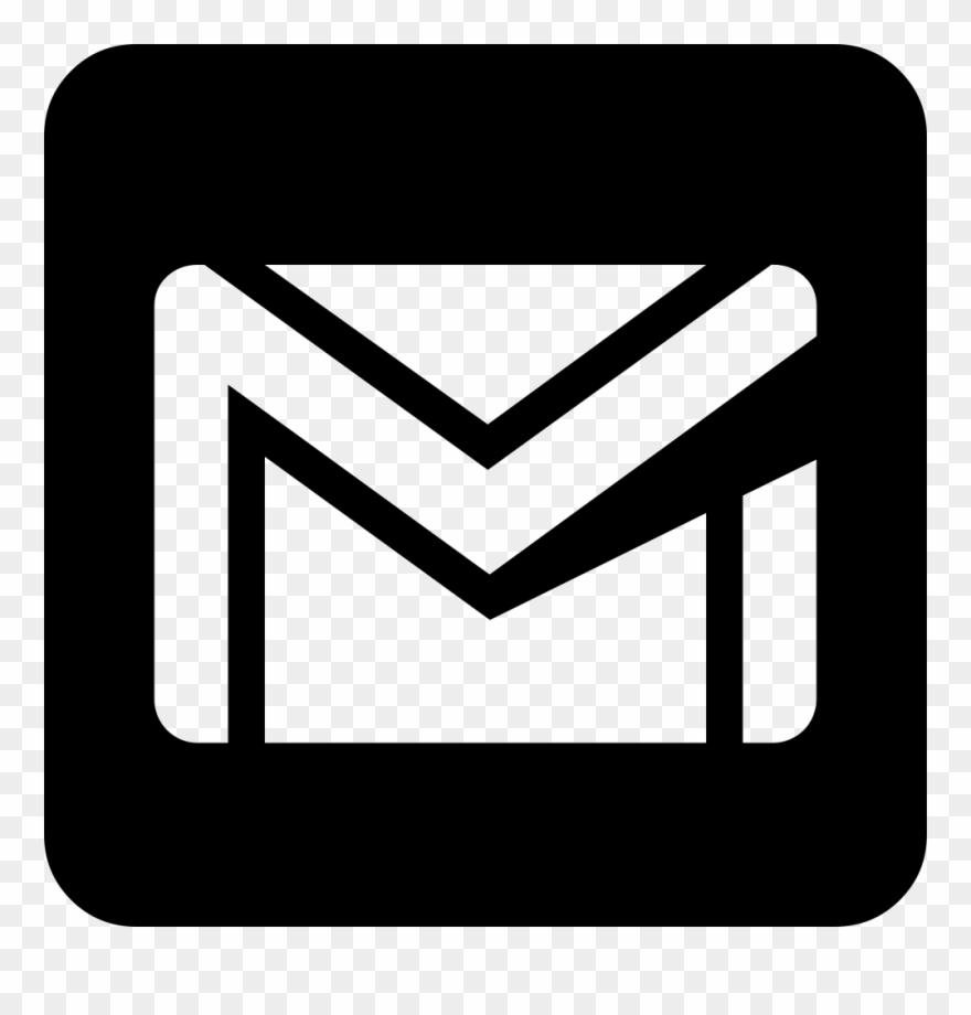 Download logo imel vektor png clipart logo clip art gmail logo vector black and white