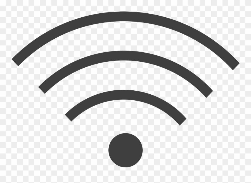 Wi Wifi Fond Transparent Clipart 496400 Pinclipart