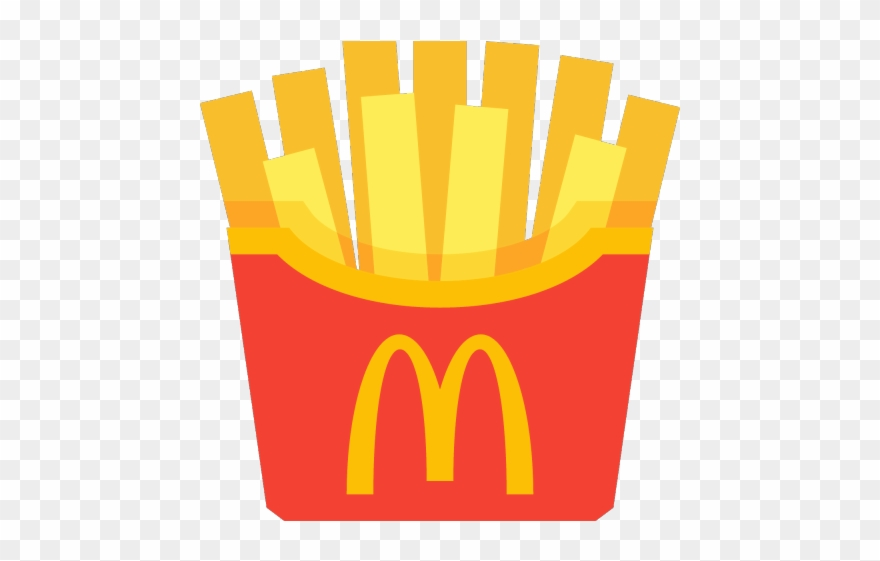 Mcdonalds Clipart Fries Mcdonalds French Fries Vector