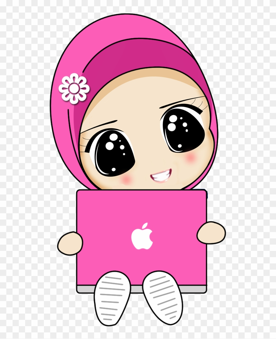 Satire Drawing Islam Cute Muslimah Pictures Cartoons Clipart