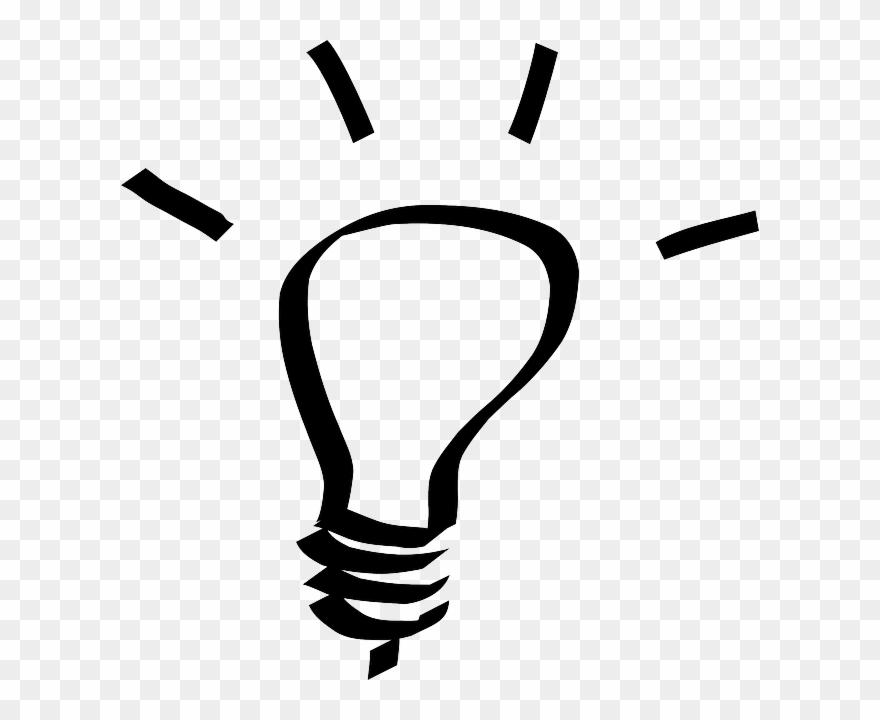 idea clipart lighbulb light bulb clip art black and white vintage png download 499668 pinclipart idea clipart lighbulb light bulb clip