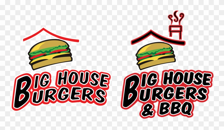 My Big House Online Burger Clipart Top View - Big House Burgers - Png Download