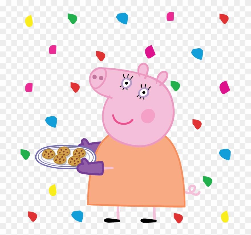 Mummy Pig Daddy Pig George Pig Granny Pig Imagens Da Mamae Pig