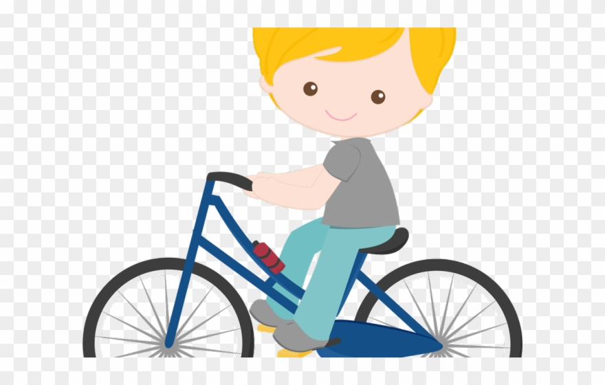 Child Clipart Bicycle Boneca Minus Bicicleta Png Transparent Png