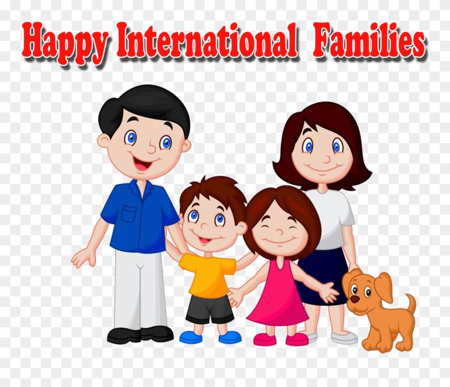 La Famille Dessin Anime Clipart 4921178 Pinclipart