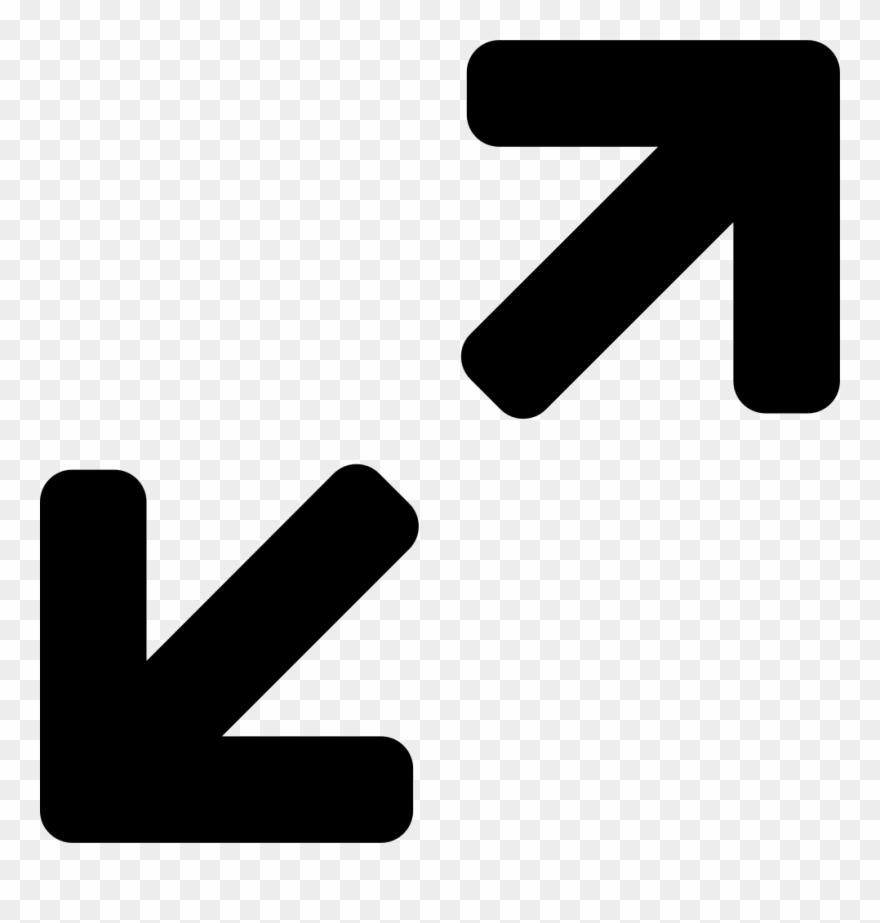 Expand Arrows Free Icon - Maximise Icon Clipart (#4928599