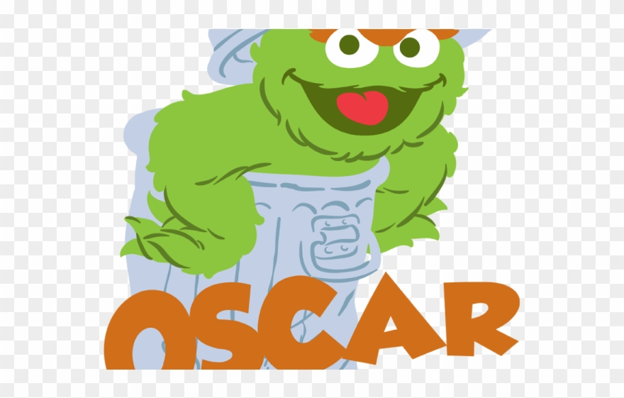Oscar The Grouch Clipart Transparent Cartoon Png