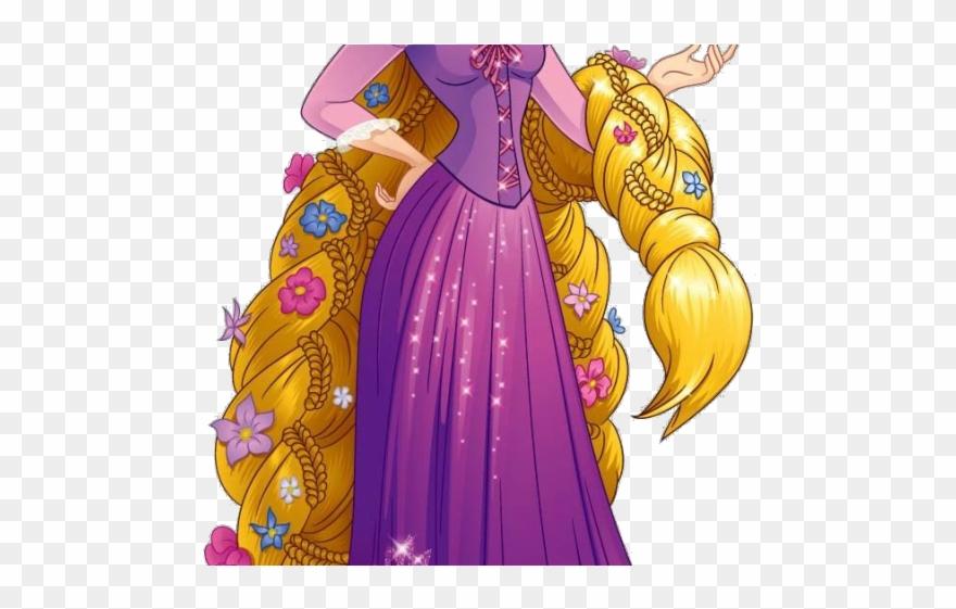 Rapunzel Clipart Transparent Background Tangled Png Download 4947620 Pinclipart