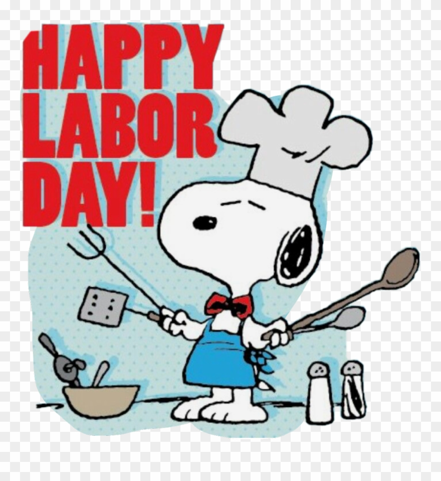 Labor Day Clipart Snoopy Labor Day Clip Art Free Png Download