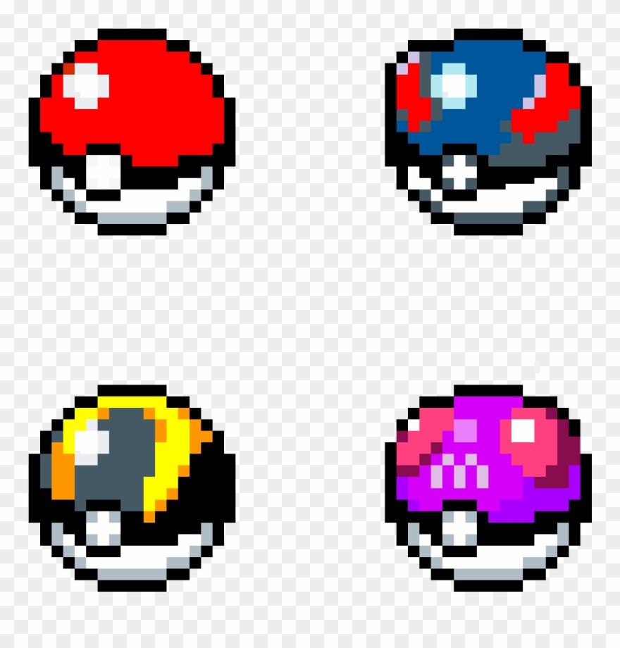 Pokeballs In Catching Rate Order Gen Pixel Art Ultra Ball