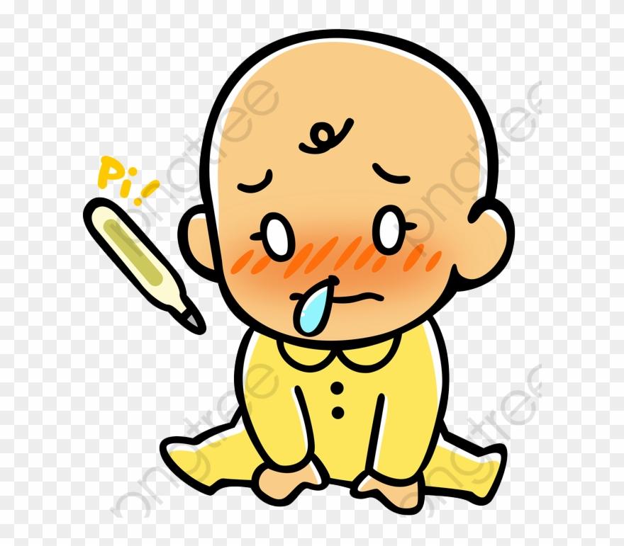 Cartoon Baby Sick Runny Nose Bubble Dibujo Bebe Con Mocos Clipart 4965376 Pinclipart