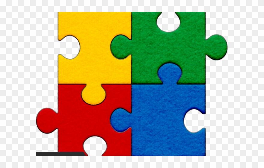 Autism Puzzle Piece Transparent Clipart