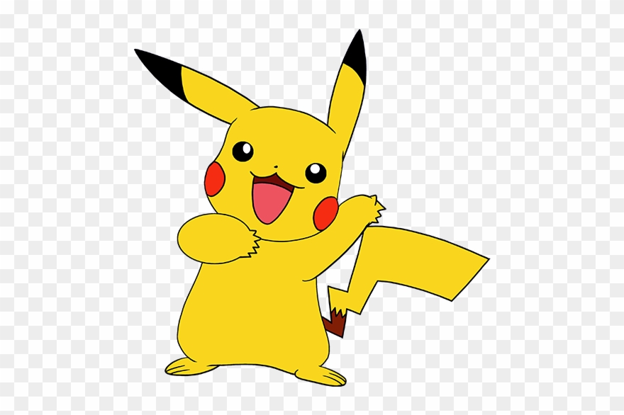 Pikachu simple. Clipart easy png download