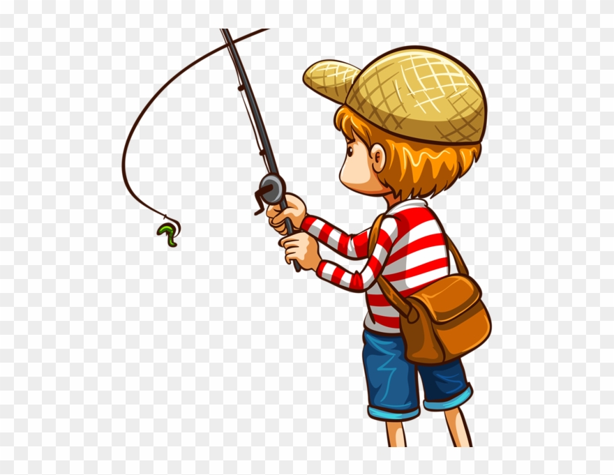 7 142 Man Fishing Stock Illustrations Cliparts Clipart Fishing Rod Png Transparent Png 4977886 Pinclipart