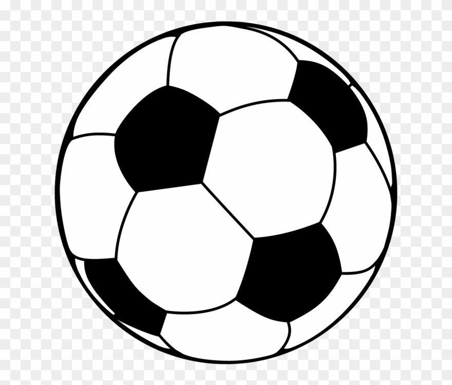 Soccer Or Football - Vector Football Ball Png Clipart (#4981049 ...
