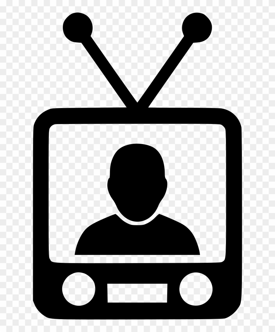 Tv news. Download television clipart clip