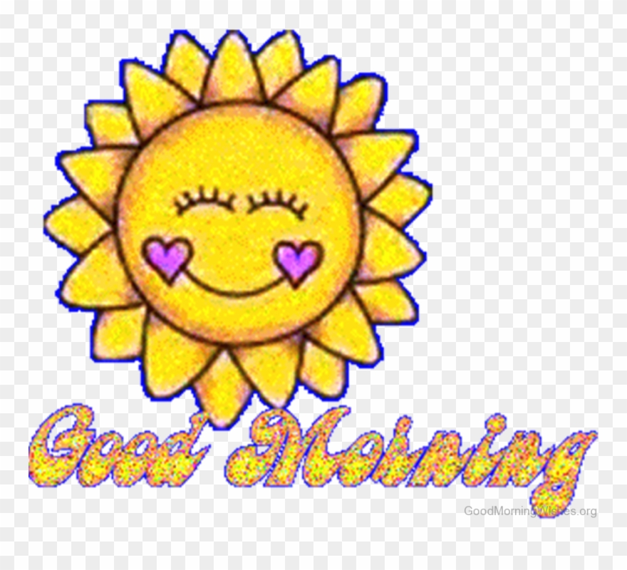 Sun Clipart Clipart Animated Good Morning Gif Png Transparent Png