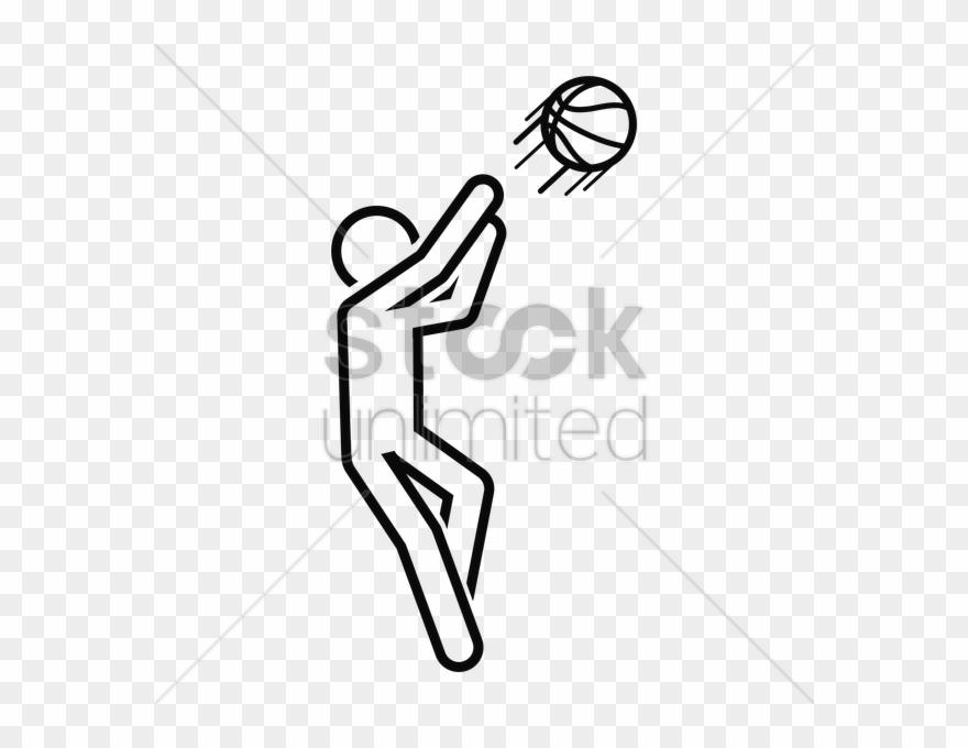 Basketball Player Drawing Png Clipart Nba Clip Art Cartoon