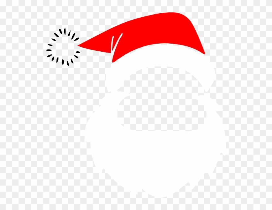 2fbc72ac5 Download Beard Clipart Santas - Santa Claus Face Png Transparent Png ...