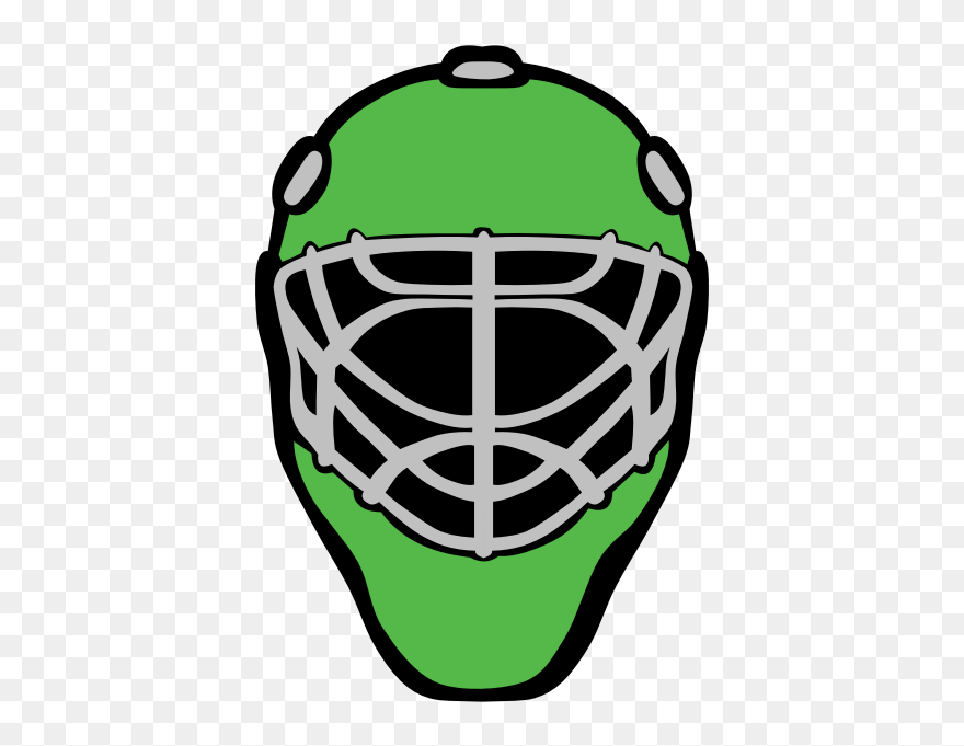 Goaltender Mask Ice Hockey Hockey Goalie Mask Vector Clipart