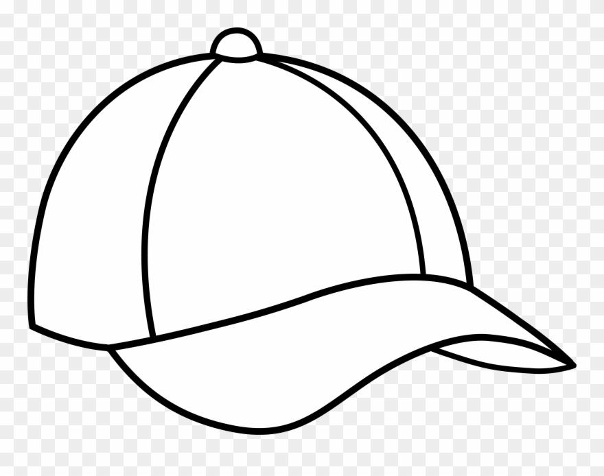 4adadb8408a8af Baseball - Cap Black And White Clipart (#53365) - PinClipart