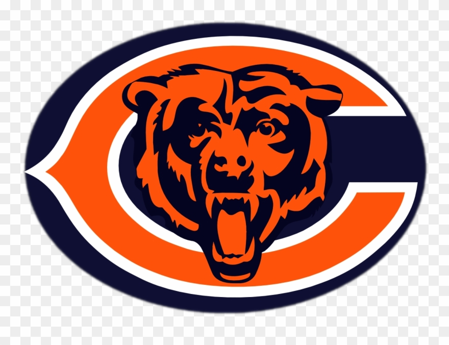Chicago bears white background. Logo png nfl hitch