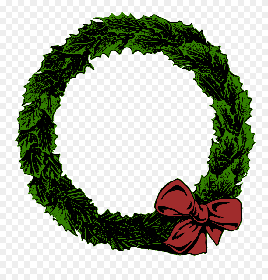 Christmas Wreath Vector.Christmas Wreaths Christmas Day Clip Art Christmas