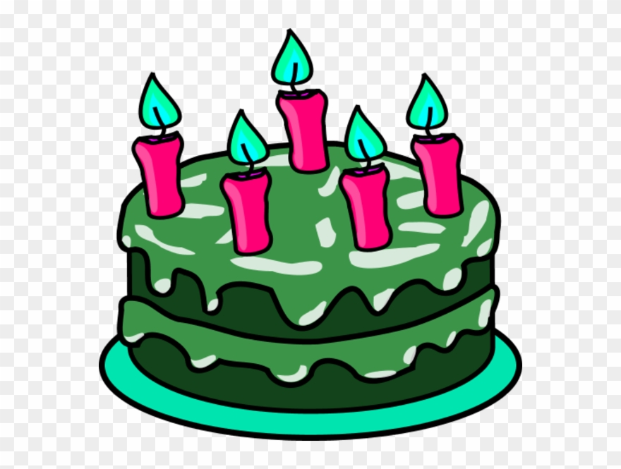 Sadie Adams Hippie Reformer - Clipart Birthday Cake